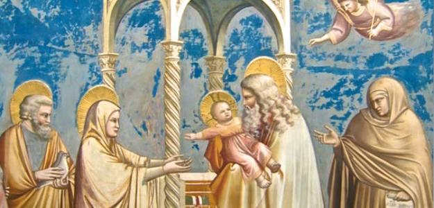 La  Presentazione di Gesù nel Tempio celebrata in Santa Maria della Candelora